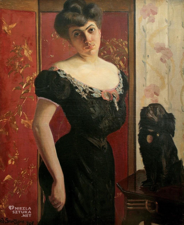 Władysław Skoczylas Portret kobiety
