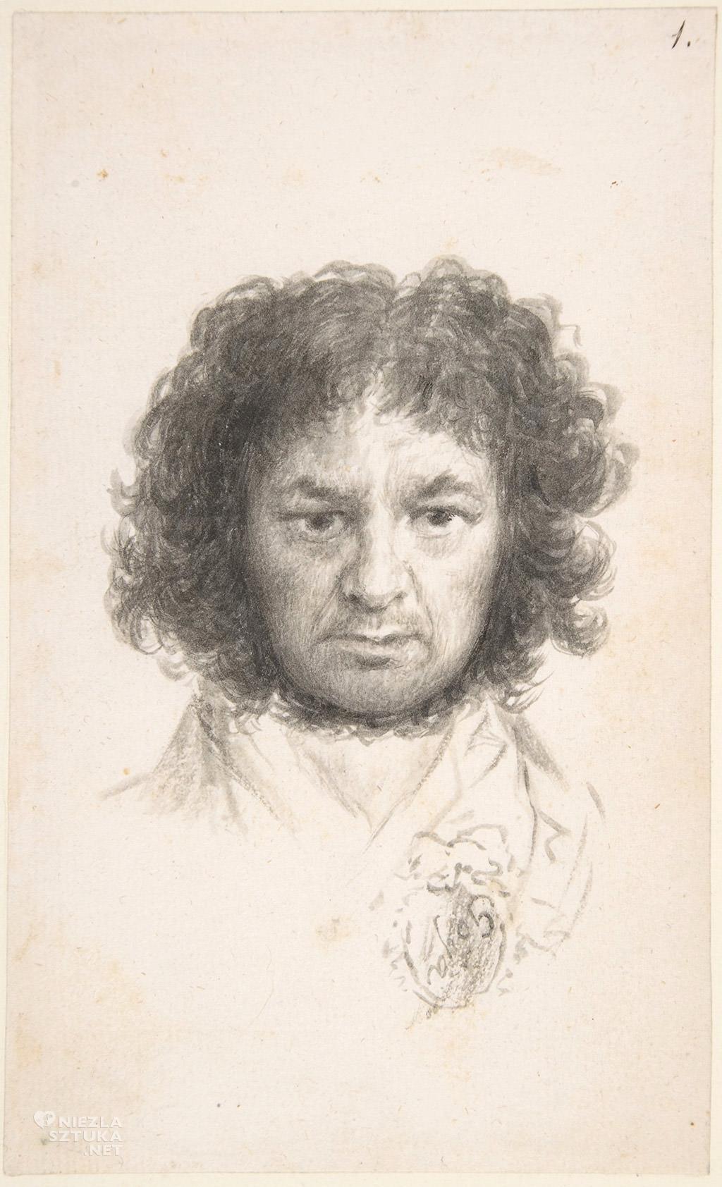 Francisco Goya Autoportret, 1795–97, MET, Nowy Jork, Niezła sztuka