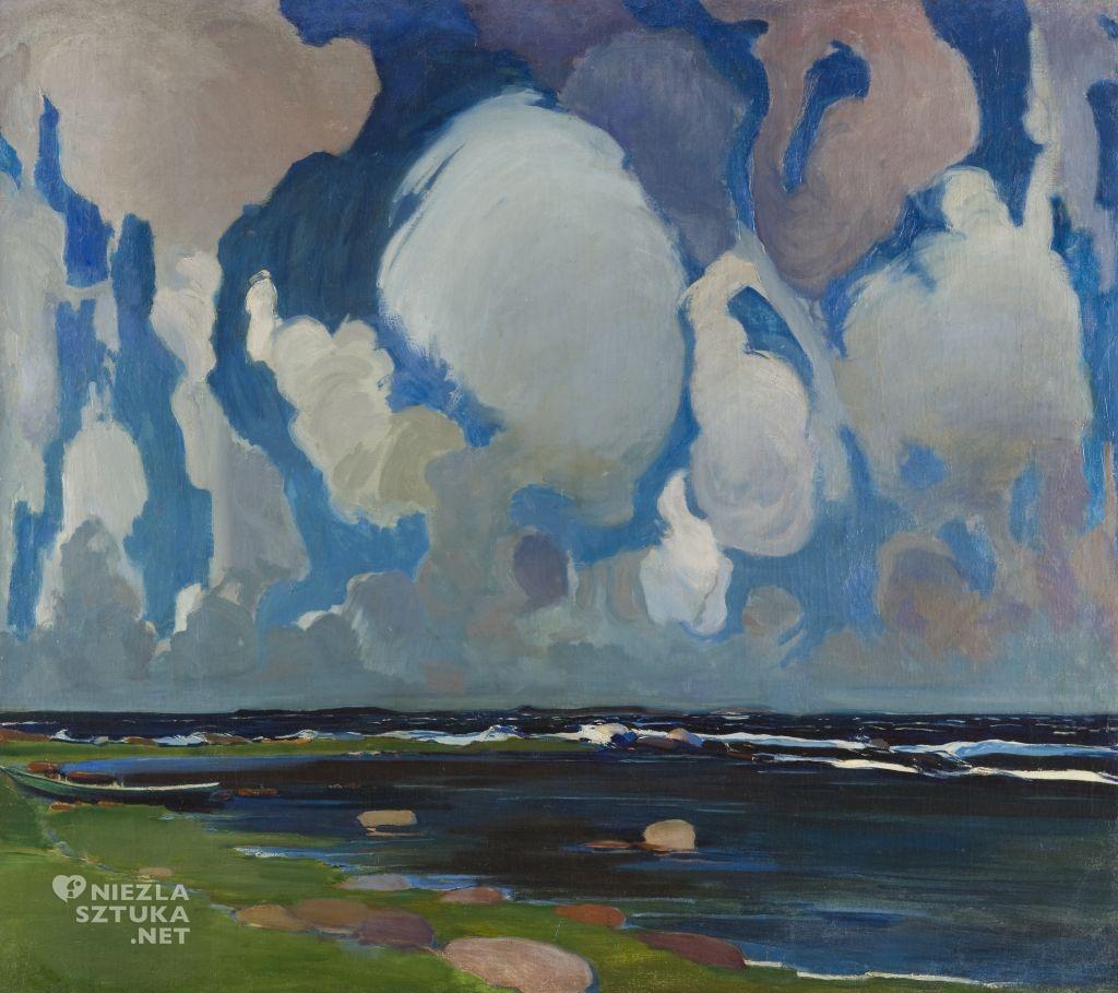 Konrad Krzyżanowski, Chmury w Finlandii , 1908, Muzeum Narodowe w Krakowie