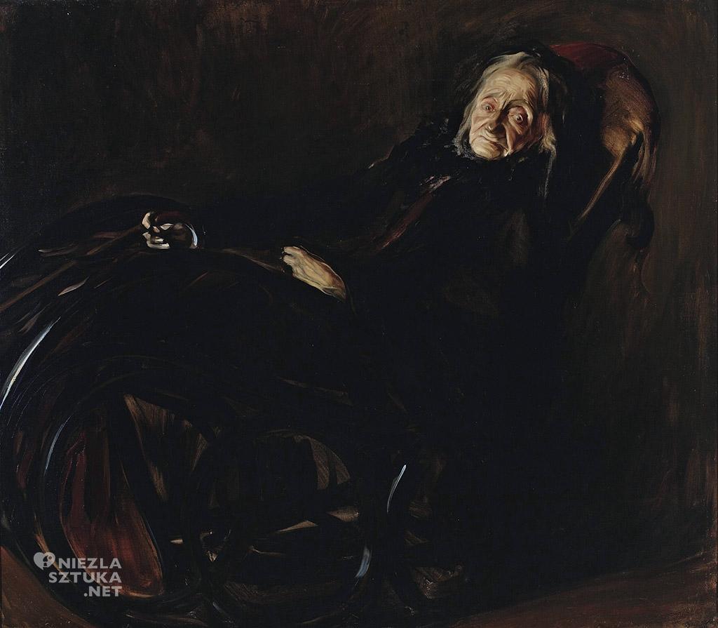 Konrad Krzyżanowski, Portret Pelagii Witosławskiej , 1912, Muzeum Narodowe w Warszawie