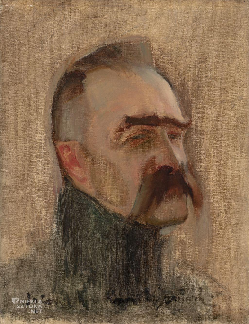 Konrad Krzyżanowski, Portret Józefa Piłsudskiego, Józef Piłsudski, Niezła sztuka