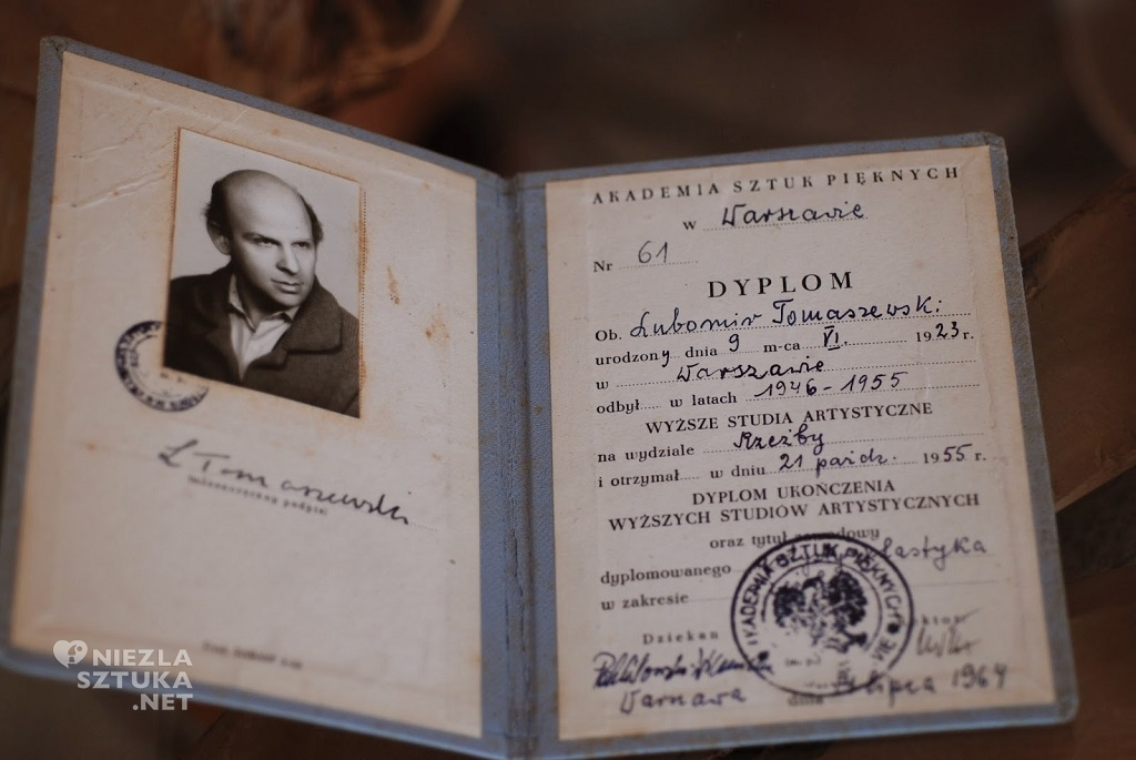 Lubomir Tomaszewski, dyplom ASP, fot. Dzięki uprzejmości Fundacji Art and Design Lubomir Tomaszewski