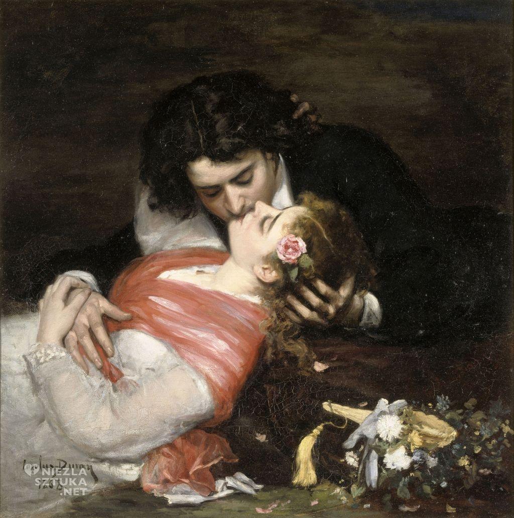 Carolus-Duran, Pocałunek , 1868, Palais des Beaux-Arts de Lille