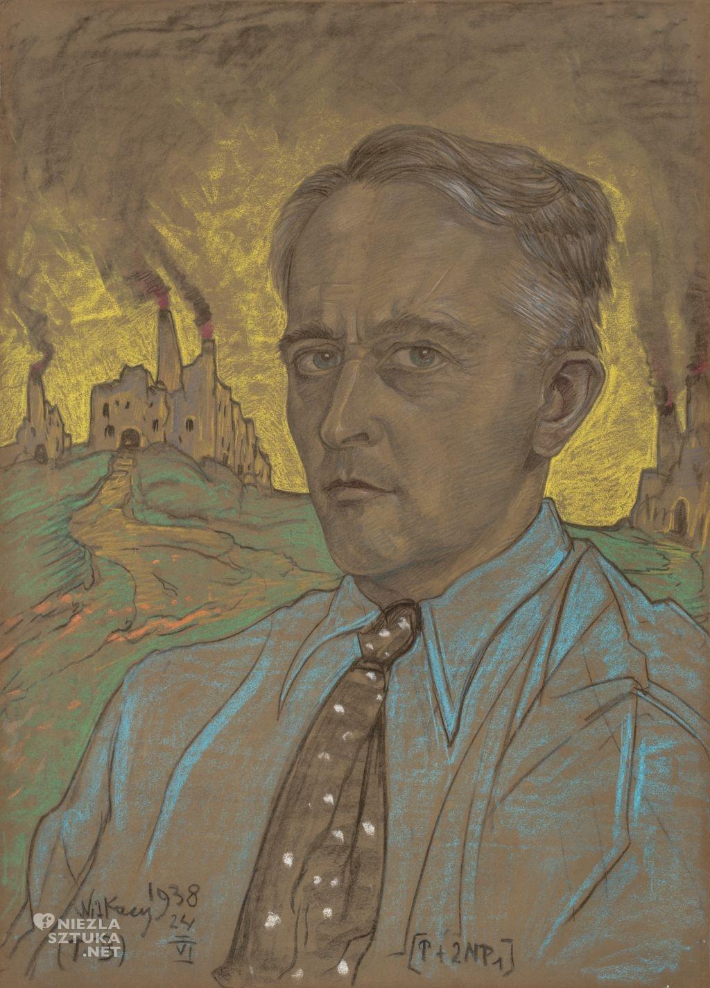 Stanisław Ignacy Witkiewicz Witkacy Autoportret