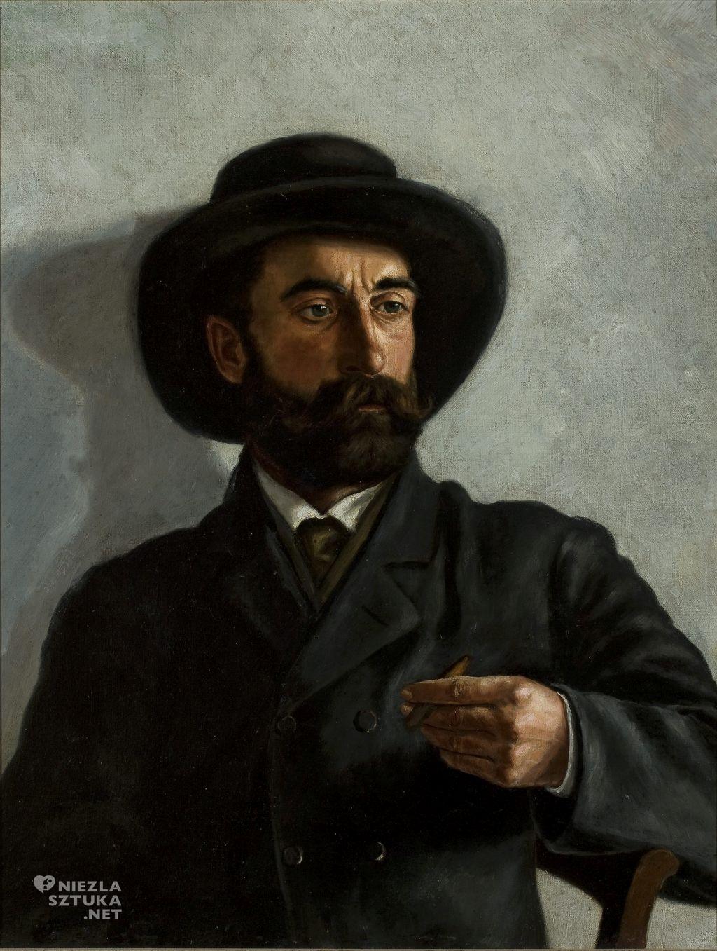 Stanisław Witkiewicz Autoportret niezła sztuka