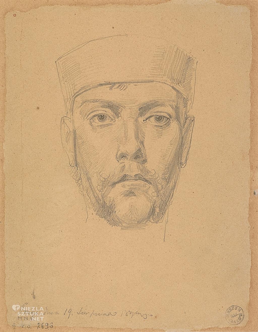 Stanisław Wyspiański, Autoportret, Muzeum Narodowe, Kraków, Niezła sztuka