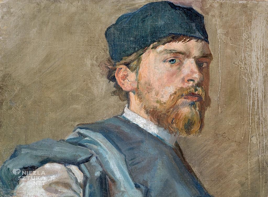 Stanisław Wyspiański, Autoportret, Muzeum Narodowe, Wrocław, Niezła sztuka