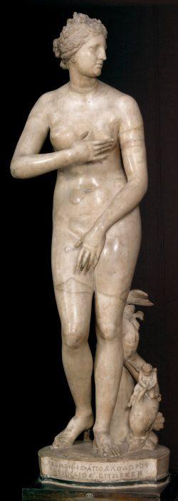 Wenus Medycejska, venus pudica, rzeźba, niezła sztuka
