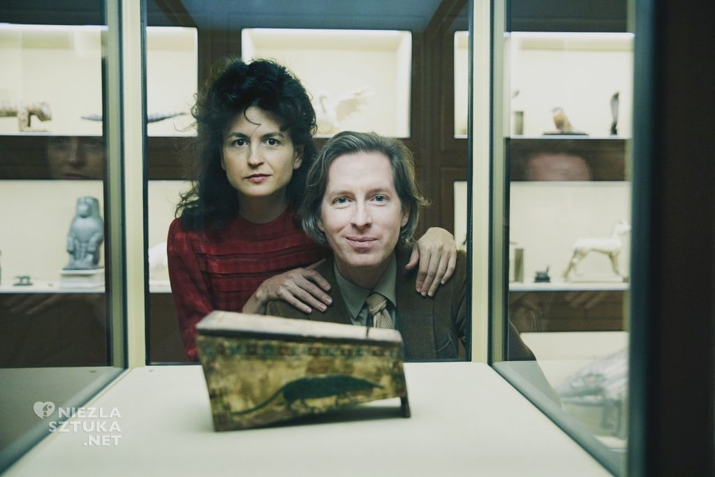 Wes Anderson i Juman Malouf w Muzeum Historii Sztuki w Wiedniu, © Kunsthistorisches Museum w Wiedniu, fot. Rafaela Proell