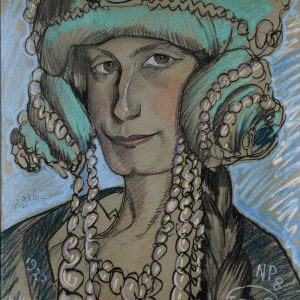 Stanisław Ignacy Witkiewicz, Portret Marii Nawrockiej, 1926, Muzeum Pomorza Środkowego w Słupsku