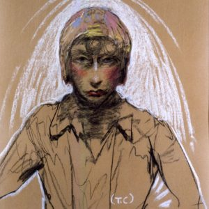 Stanisław Ignacy Witkiewicz, Portret Neny Stachurskiej, 1930, Muzeum Pomorza Środkowego w Słupsku