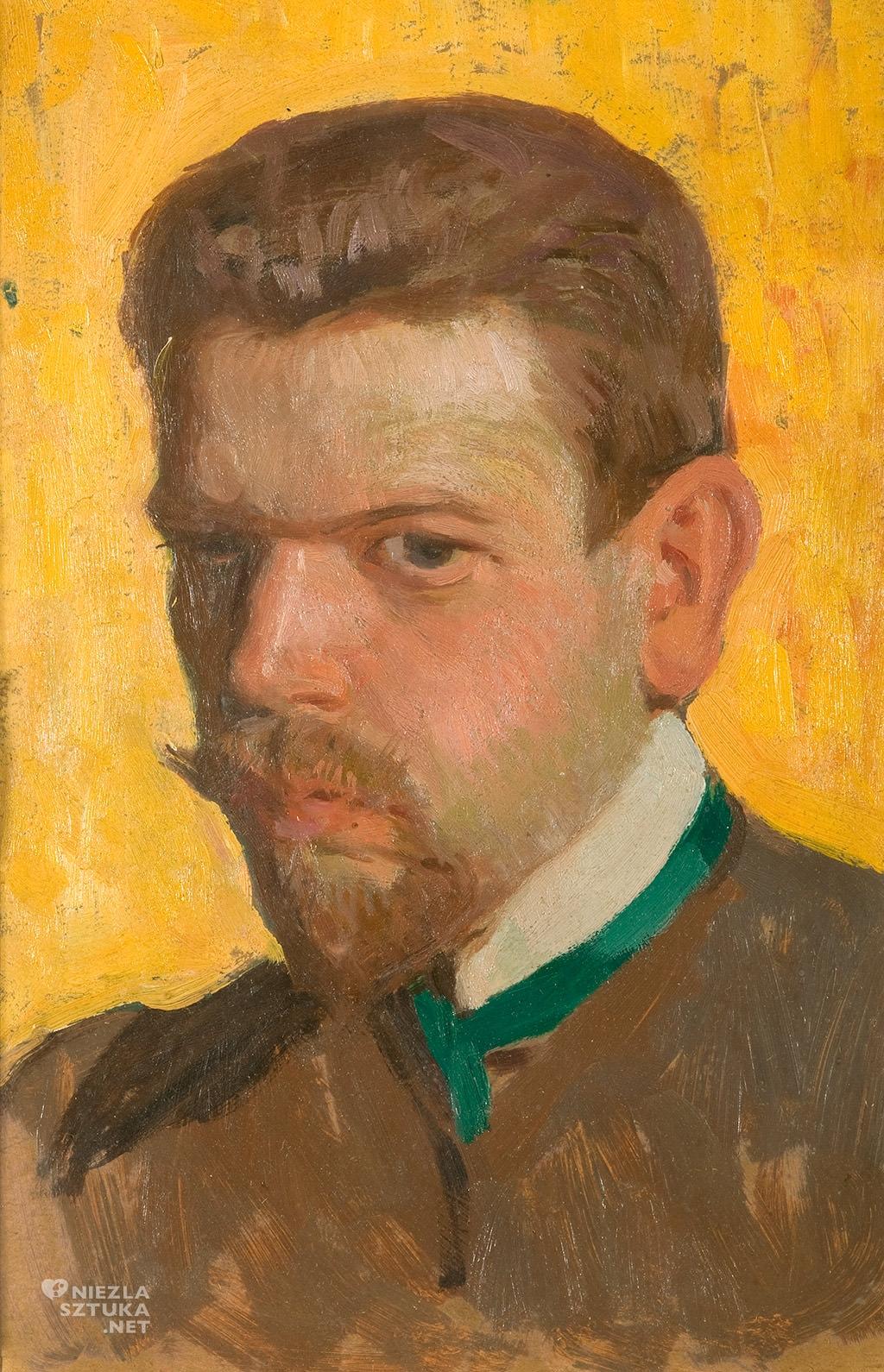 Władysław Skoczylas Autoportret