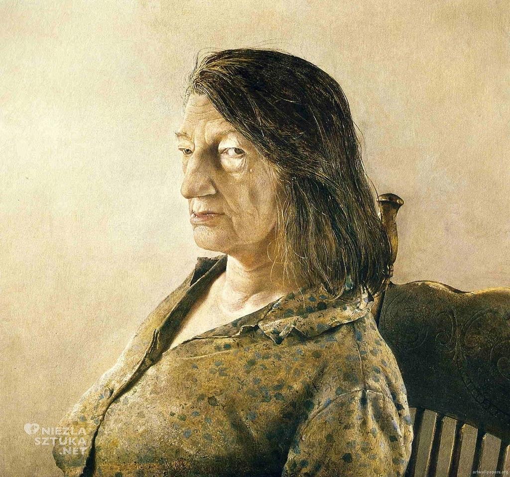 Portret Christiny, Andrew Wyeth, Niezła Sztuka