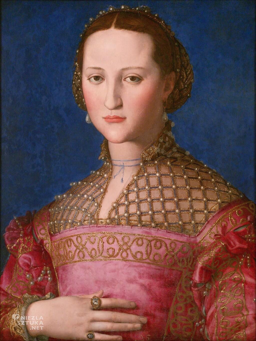 Agnolo Bronzino Eleonora di Toledo Niezła Sztuka