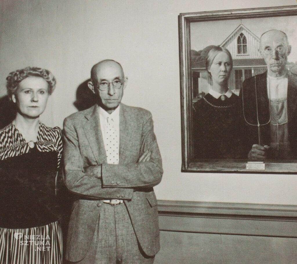 American Gothic, fotografia, sztuka amerykańska, Niezła Sztuka