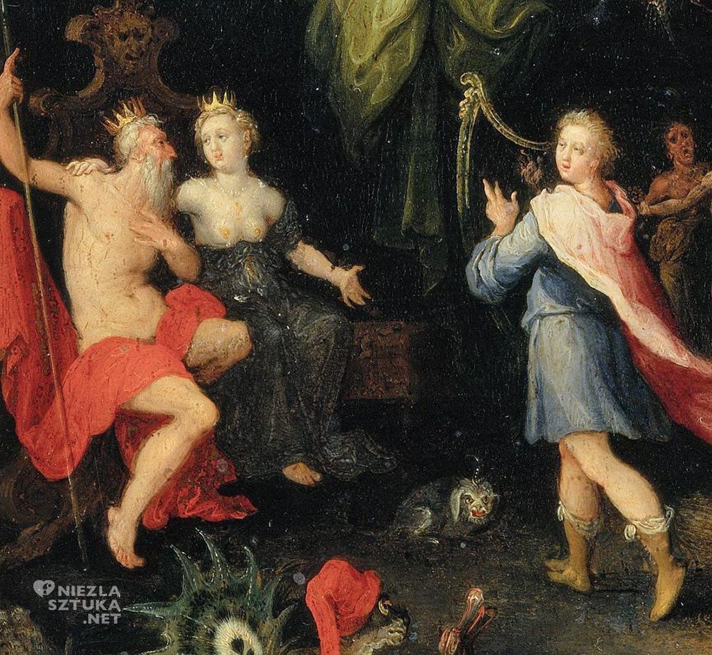 Jan Brueghel, Orfeusz w Zaświatach, Palazzo Pitti, Florencja, Niezła sztuka