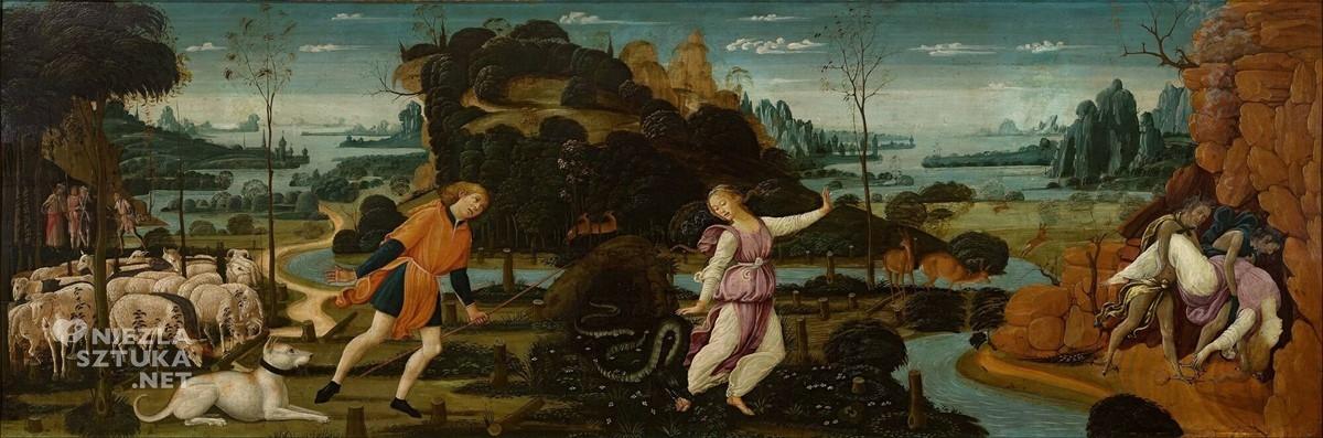 Jacopo del Sellaio Orfeusz, Eurydyka i Aristajos, Museum Boymans van Beuningen, Rotterdam, Niezła sztuka
