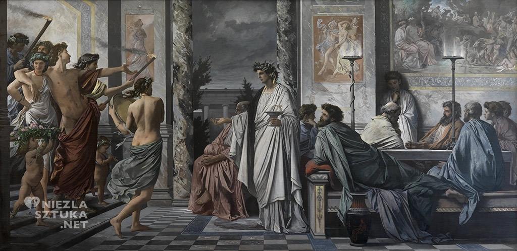 Anselm Feuerbach, Sympozjum Platona, Niezła Sztuka