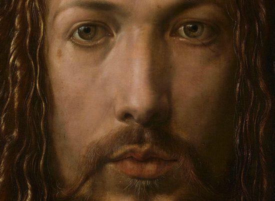 Albrecht Dürer, Autoportret w futrze, detal, Niezła Sztuka