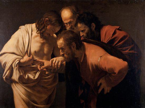Caravaggio, Niewierny Tomasz, Niezła Sztuka