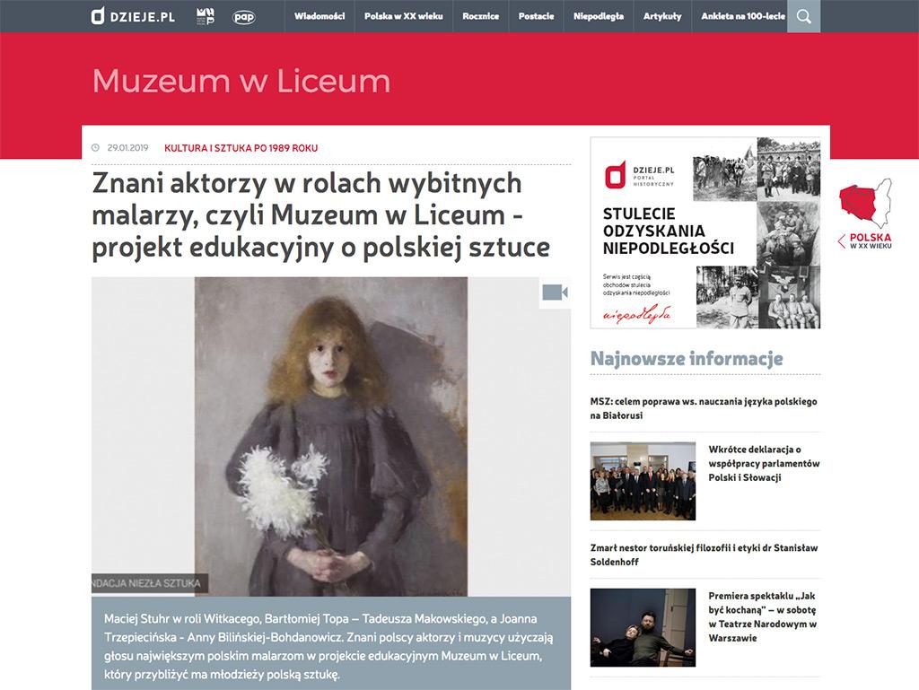 Muzeum w Liceum