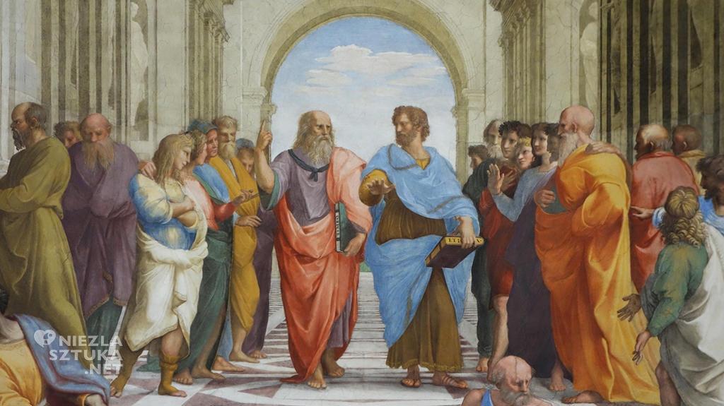 Rafael Szkoła Ateńska, fragment | 1809-1511, Stanze Watykańskie