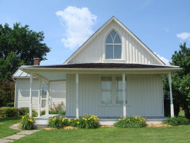 American Gothic House, sztuka amerykańska, Niezła Sztuka