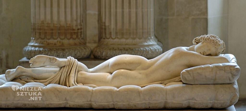 Śpiący Hermafrodyta, Luwr