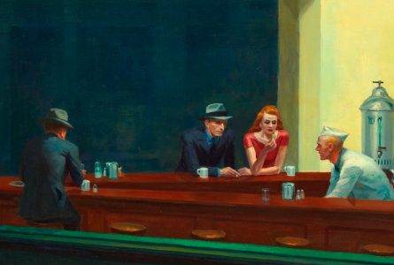Edward Hopper, Nocne marki, slajd