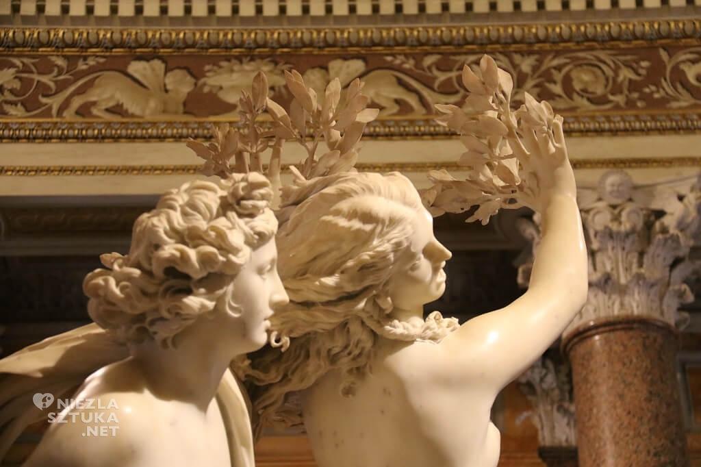 Bernini, Apollo i Dafne, Galeria Borghese, Rzym, rzeźba, Niezła sztuka