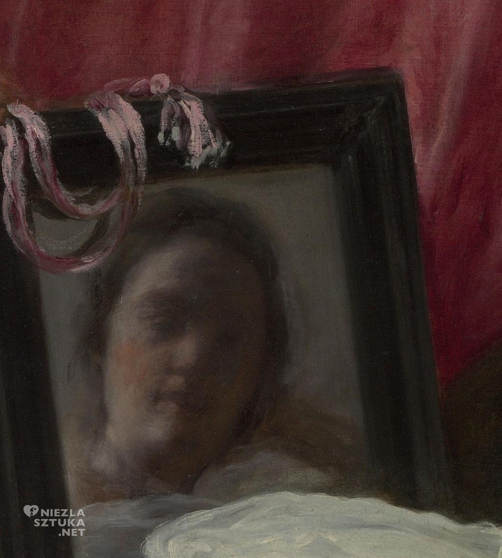 Diego Velázquez, Wenus z lustrem, 1648-1650 olej, płótno, National Gallery, Londyn, Niezła sztuka