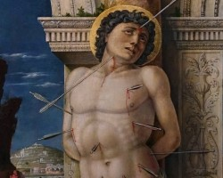 Andrea Mantegna, Św. Sebastian, ok. 1460, Kunsthistorisches Museum. Wiedeń, Niezła sztuka