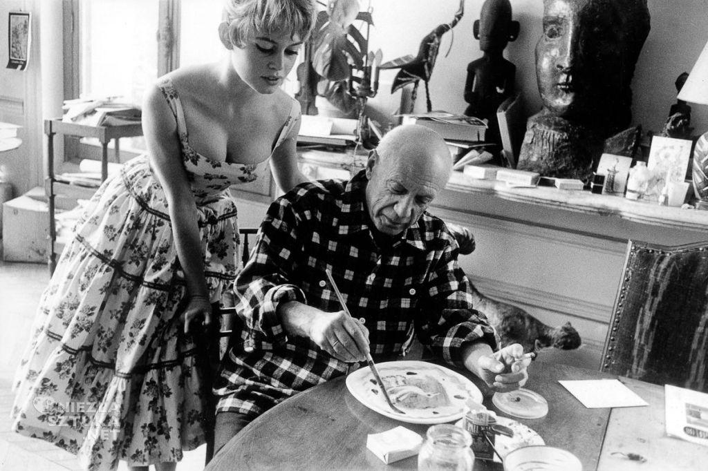 Brigitte Bardot i Pablo Picasso