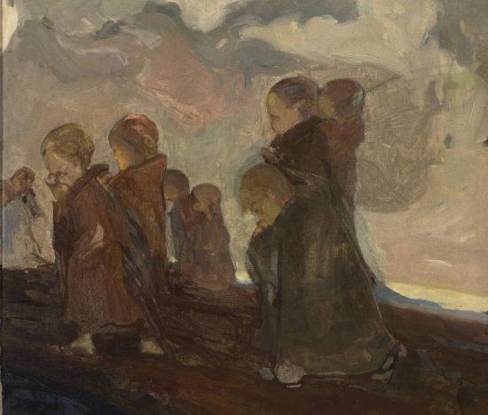 Witold Wojtkiewicz, sztuka polska, Krucjata dziecięca, Niezła Sztuka