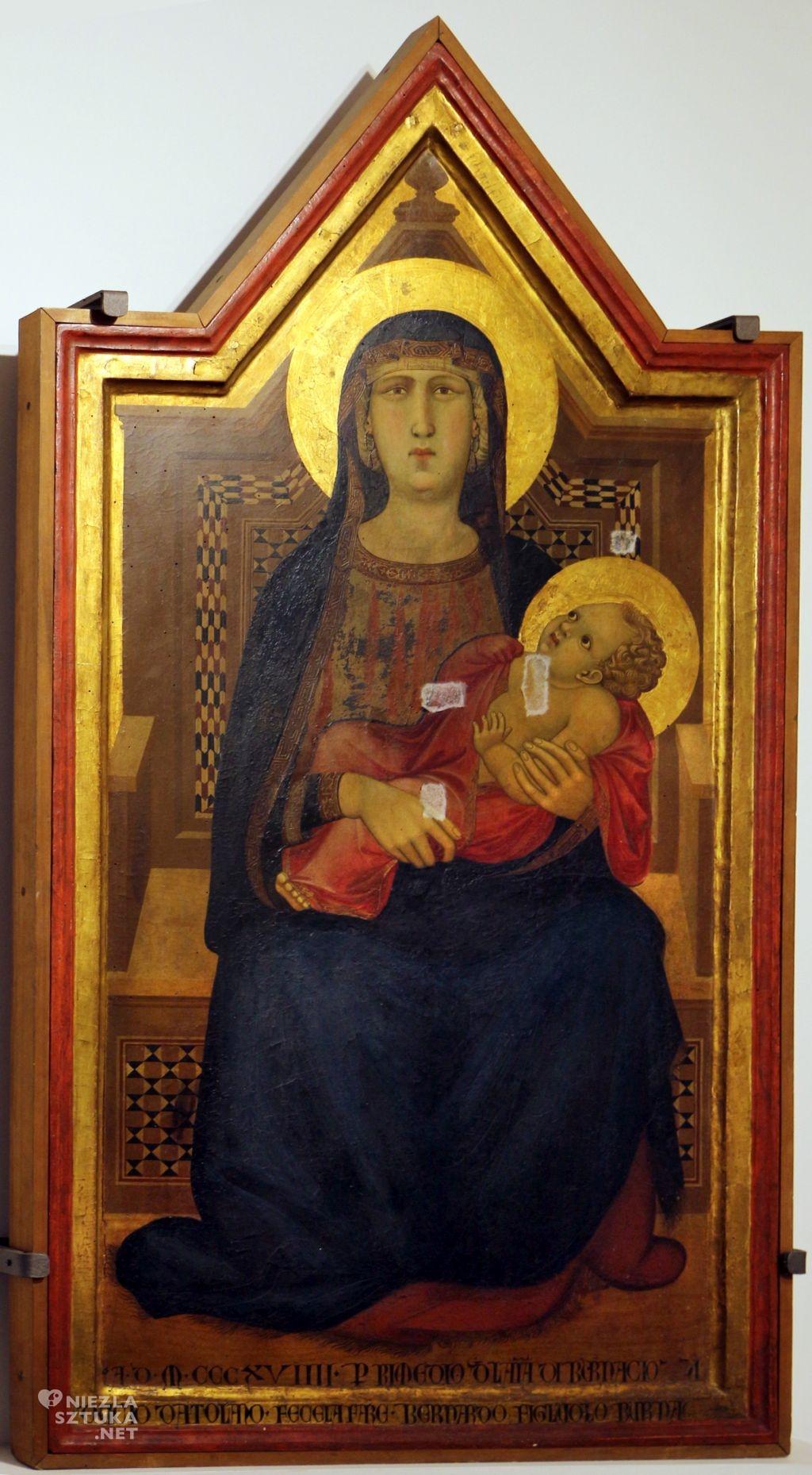 Ambrogio Lorenzetti Madonna di Vico l'Abate | 1319, San Casciano Museum, Florencja