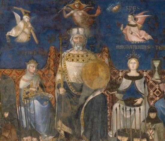 Palazzo Pubblico, Ambrogio Lorenzetti, Siena, Włochy, sztuka włoska, Niezła sztuka