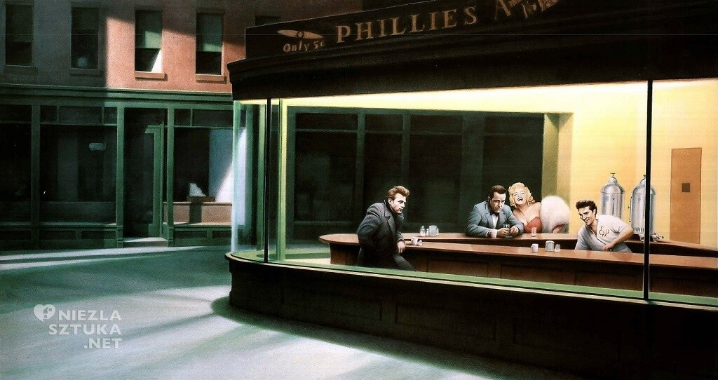Gottfried Helnwein, Boulevard of Broken Dreams, 1984