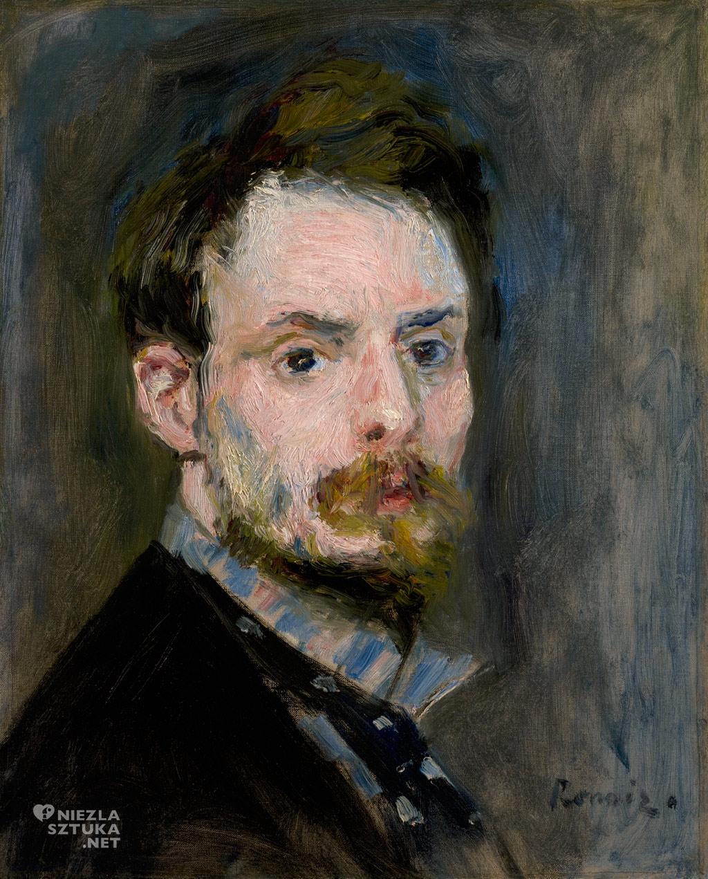 Pierre-Auguste Renoir, Autoportret | 1875