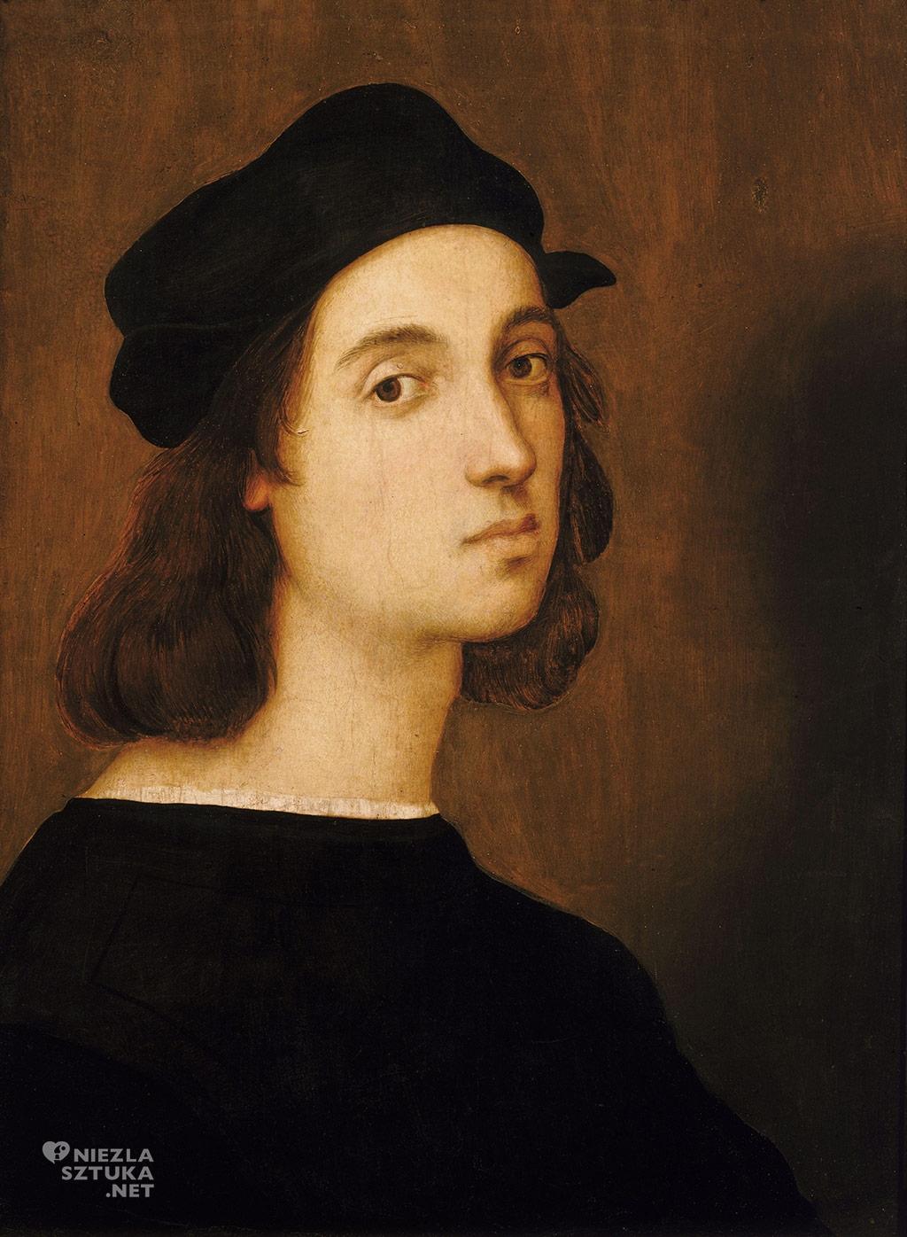Rafael Santi, Autoportret,ok. 1506, Galeria Uffizi