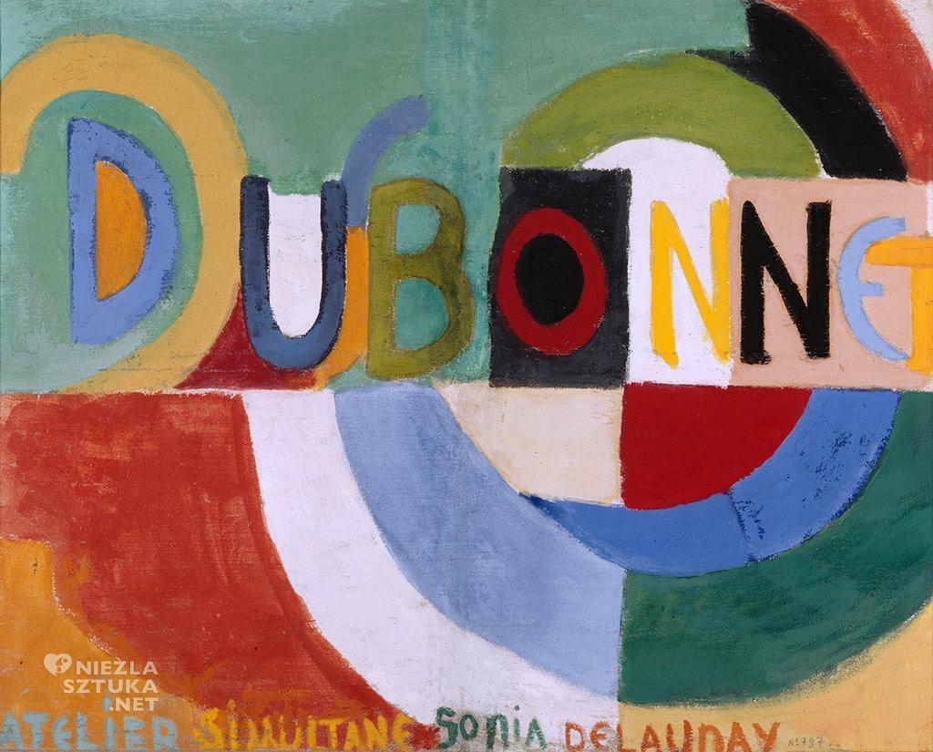 Sonia Delaunay, Dubonnet, 1914, Niezła Sztuka