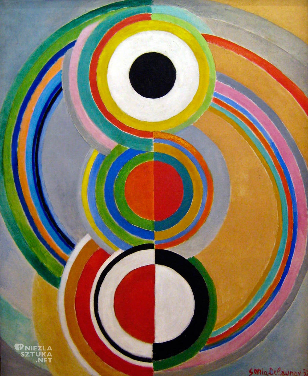 Sonia Delaunay Rytm, 1938, Niezła Sztuka