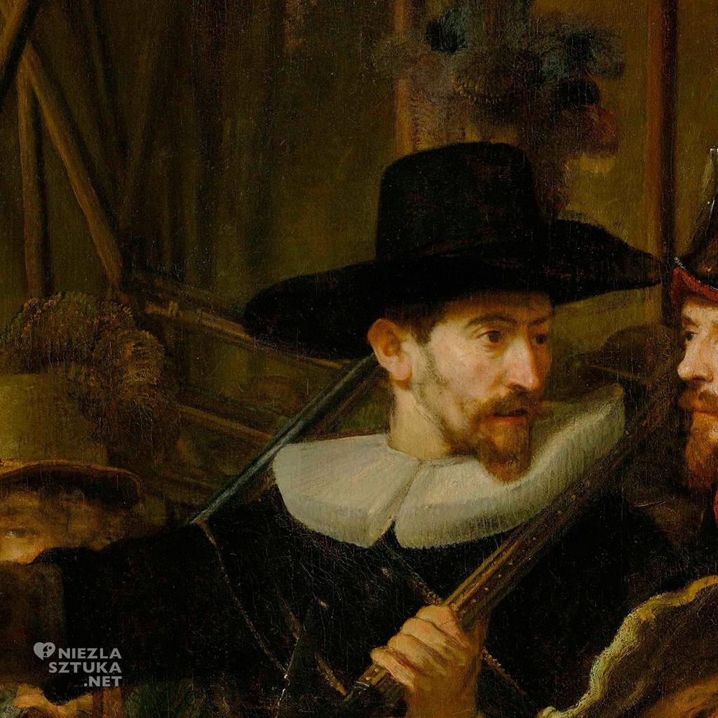 Rembrandt, Straż nocna, Niezła sztuka