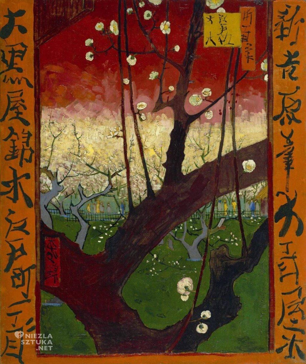 Vincent van Gogh Kwitnące śliwy, Niezła sztuka