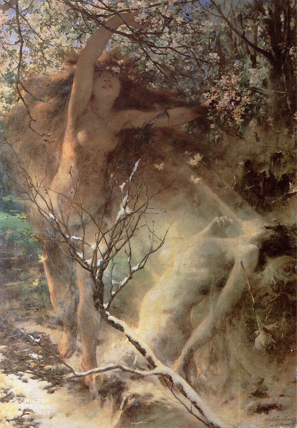 Witold Pruszkowski, Wiosna | 1887, Lwowska Galeria Sztuki