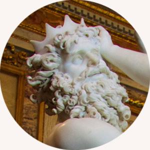Gian Lorenzo Bernini Porwanie Prozerpiny, detal | 1621-1622, Galeria Borghese, Rzym