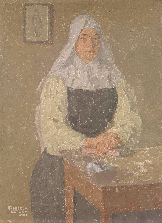 Gwen John, Zakonnica, National Gallery of Victoria, Niezła Sztuka