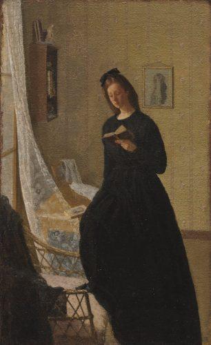 Gwen John, Dziewczyna czytająca przy oknie, MoMa, Niezła Sztuka