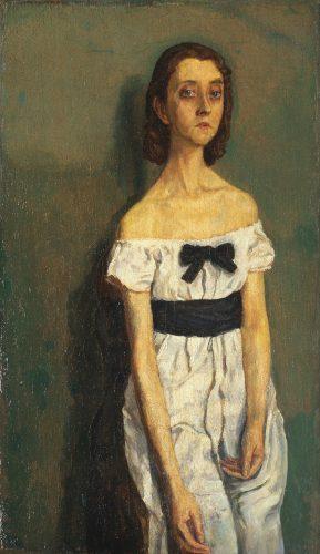 Gwen John, Dziewczyna z nagimi ramionami, MoMA, Niezła Sztuka