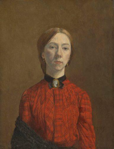Gwen John, Autoportret, Tate, Niezła Sztuka