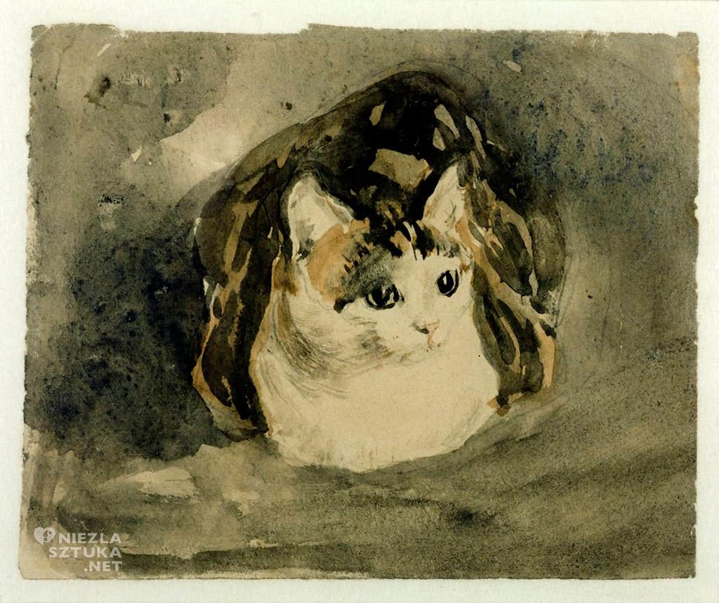 Gwen John, Kot, Tate, Niezła Sztuka